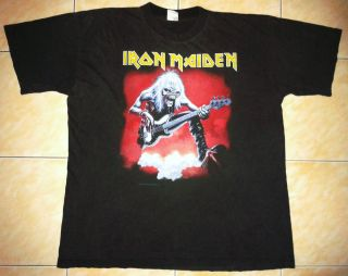 RARE VINTAGE 1993 IRON MAIDEN ROCK METAL TOUR CONCERT PROMO TEE T