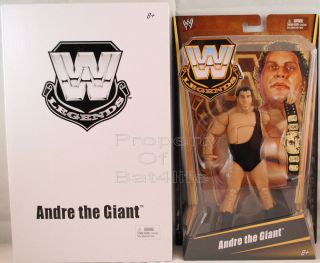 2012 MATTEL WWE LEGENDS ANDRE THE GIANT WILL COME IN WHITE MAILER NEW