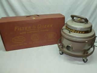 Filter Queen 350 Canister Vacuum Cleaner Carpet Washer Attachments