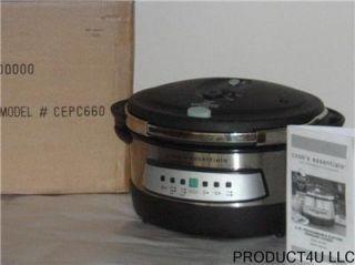 Cooks Essentials CEPC660 6 Qt Pressure Cooker
