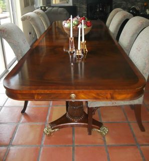 Maitland Smith custom made Dining Conference table seats 16 13 chairs