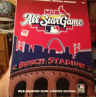 2009 Major League Baseball All Star Game Program Limited Edition