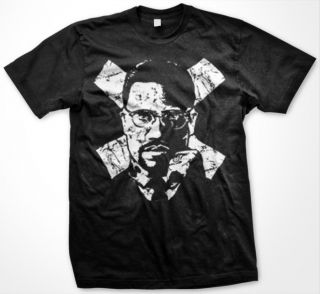 Malcom x African American Pride Revolutioni Men T Shirt