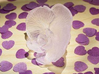 25 Lavender Orchid Soap Wedding Bridal Shower Favors