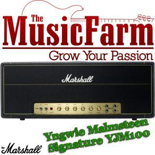Marshall Limited Edition Yngwie Malmsteen YJM100 Signature Guitar Head