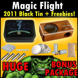 Magic Flight Launch Box Vaporizer Grinder Batteries