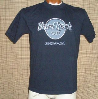 Hard Rock Cafe Singapore T Shirt Large