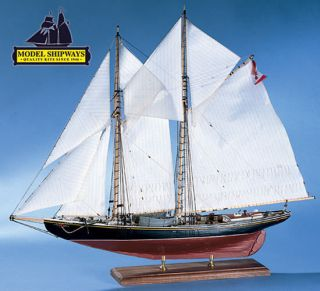 Bluenose Canadian Fishing Schooner Wood SHIP Model Kit