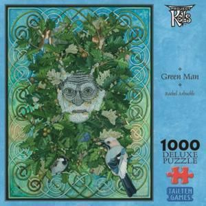 The Green Man Celtic 1000 Piece Irish Jigsaw Puzzle