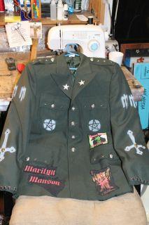 Marilyn Manson Shirt Jacket