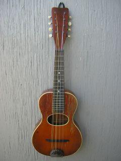 1920s Mandolin Guitar shaped Mandolinetto Pre War super rare great