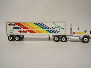 Winross Manheim Auto Auction Tractor Trailer