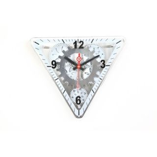 Maples Clock 13 x 15 Moving Gear Wall Clock with Glass Cover GCLS 77