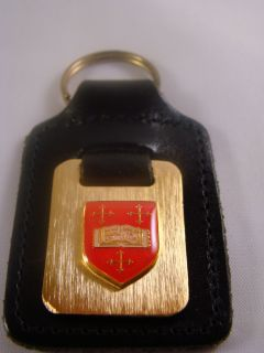 Mansfield College Oxford University Key Ring Fob