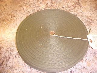 MILITARY ARMY MARINE COTTON WEBBING BELTING OD GREEN TAPESTRY TAPE