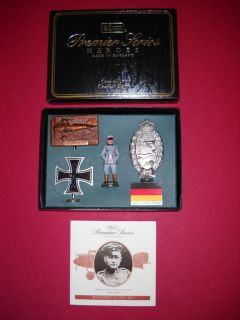 Manfred Von Richthofen WW1 Heros of The Air Premier Series Collection