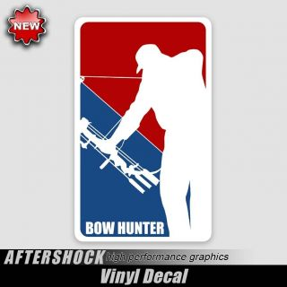 Bowhunter Deer Logo Decal Major League Archery Sticker
