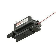 Low Profile Red Laser Sight for Sig P250 9mm 40 45 Black Rifle