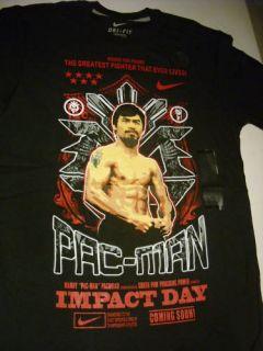 Manny Pacquiao Filipino Black Nike T Shirt Philippine