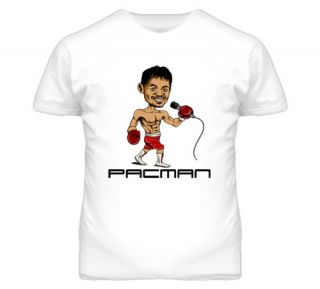 Manny Pacquiao Character Boxing T Shirt
