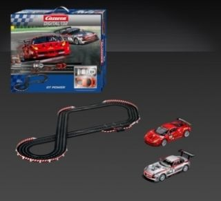 Carrera Digital 132 Slot Car Race Set 22 6 of Track Christmas