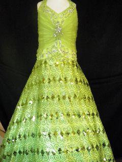 National Pageant Dress Glitz Sugar Size 12