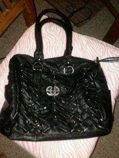 Marc Ecko Red Black Hand Bag