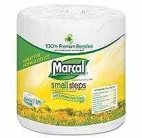 Marcal Small Steps Recycled Toilet Paper Bath Tissue 2 Ply 48 Rolls