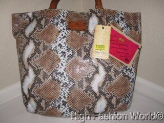 NEW PATRICIA NASH Malaga Convertible TOTE Media World Traveler HANDBAG