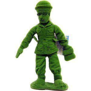 New Disney Toy Story 3 Army Men Buddies Plush Doll 7 Tall Soldier