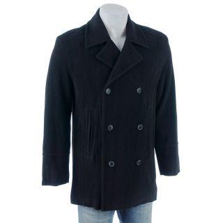 Marc by Andrew Marc Mens Italian Wool Pea Coat XXL