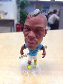 2013 Jersey Man City Mario Balotelli Detailed Doll Figure Toy