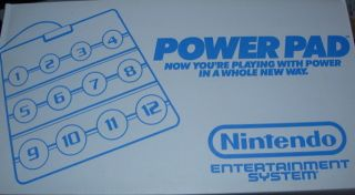 Power Pad   In Box + Super Mario Bros/Duck Hunt/Track & Field + Sleeve