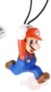 New Super Mario Bros Wii Strap Suntory Dakara Nintendo