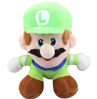 Genuine Nintendo Super Mario Bros Luigi Plush Doll Toy Hot Game