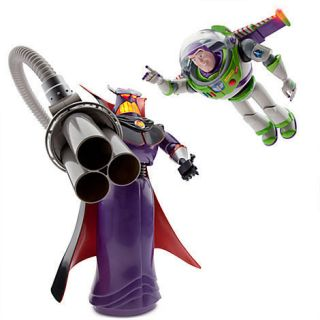 Disney Toy Story Emperor Zurg and Buzz Lightyear Talking Action Figure