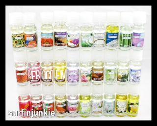 Bath and Body Works Home Fragrance Oil Summer Scents