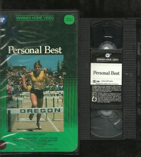 Personal Best VHS Large Box Edition Mariel Hemingway Scott Glenn Gay