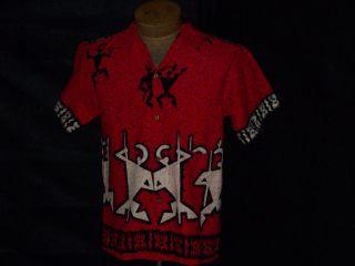 Evelyn Margolis Vintage 1960s Hawaiian Shirt C 40 S