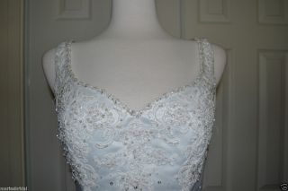 Mori Lee Bridal Wedding Gown Dress 3612 Sz 14