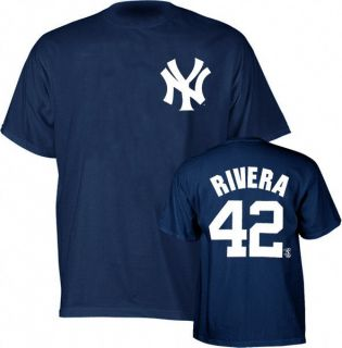 Mariano Rivera Majestic New York Yankees Tshirt