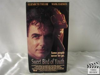 Sweet Bird of Youth VHS Elizabeth Taylor Mark Harmon