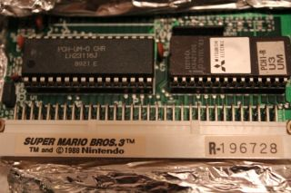 Super Mario Brothers 3 Play Choice 10 Arcade Game PCB