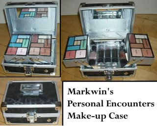 Markwins Valentines Day Make up Case Sturdy Aluminum Case