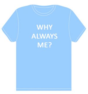 Why Always Me T Shirt Mario Balotelli Manchester Sky Blue Great Gift