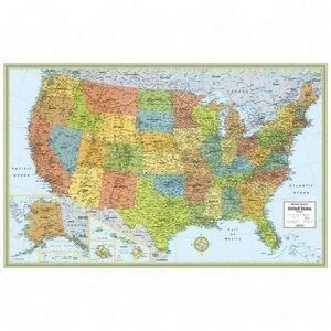 Rand McNally Ran 528959999 USA Wall Map USA 50