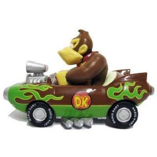 Nintendo Mario Kart Wii Pull Back Car Mini Figure 3 Donkey Kong