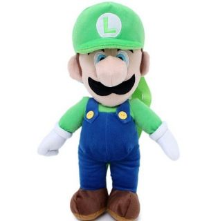 Super Mario Luigi 19 Plush Back Backpack