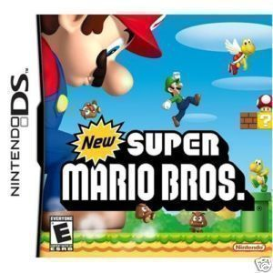 New Super Mario Bros Nintendo DS NDS Lite Game