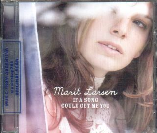MARIT LARSEN, IF A SONG COULD GET ME YOU + BONUS TRACK. FACTORY SEALED